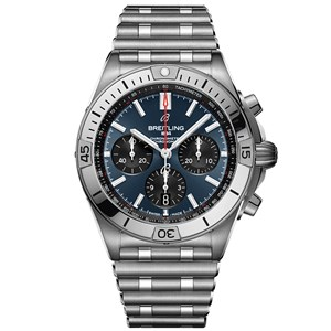 Breitling Chronomat B01 Steel-Blue