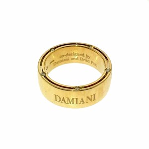 Damiani D.Side 18ct Yellow Gold Wedding Ring