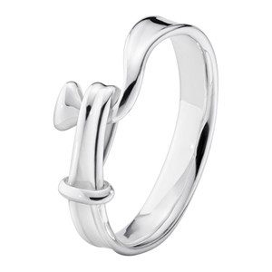 Georg Jensen Sterling Silver Torun Ring
