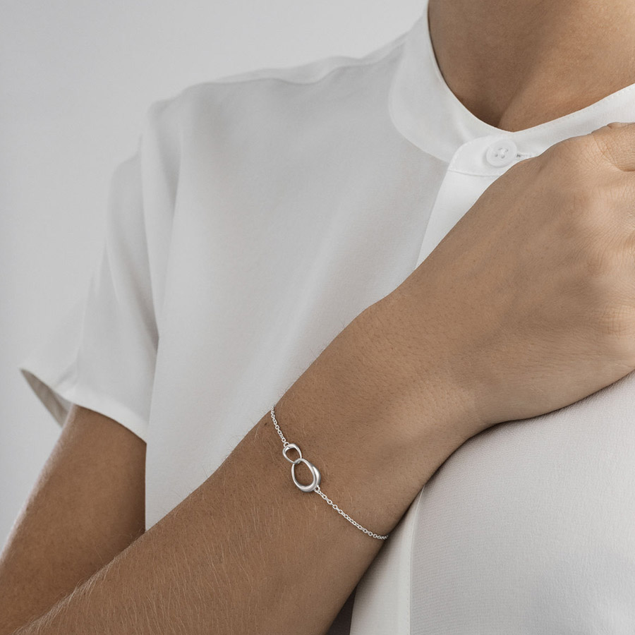 Georg Jensen Silver Offspring Bracelet