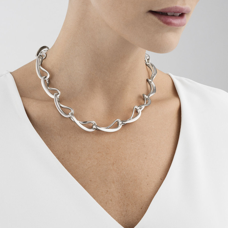 Georg Jensen Infinity Necklace