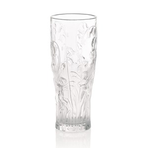 Lalique Clear Crystal Elfes Vase