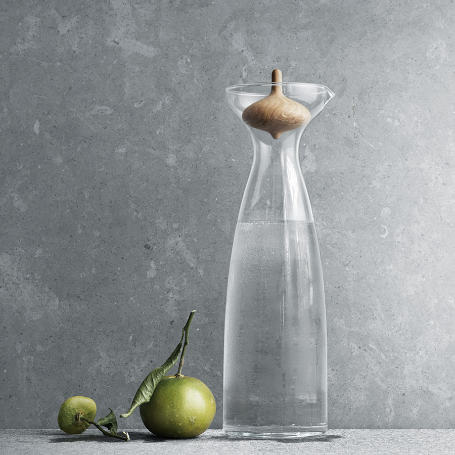 Georg Jensen Alfredo Glass Carafe