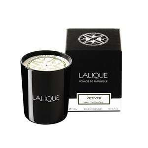 Lalique Vetiver Bali Indonesia Scented Candle