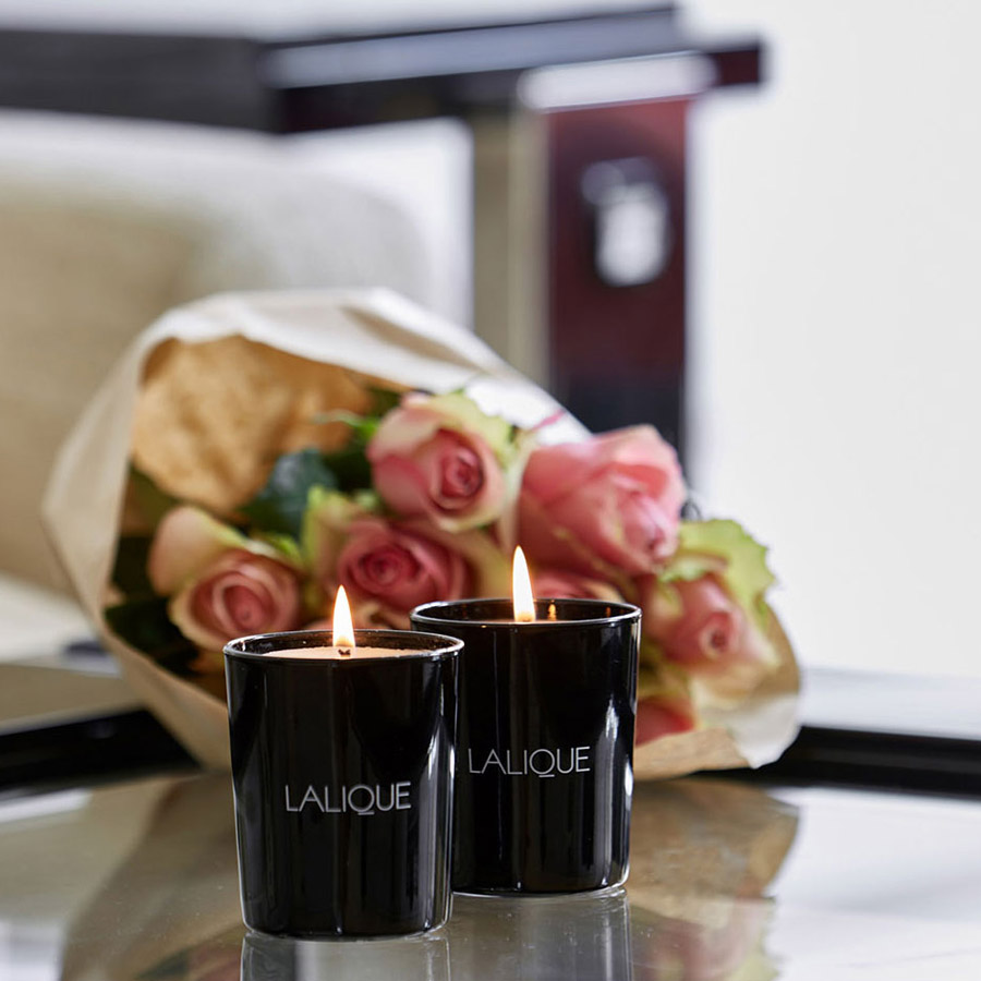 Lalique Set of 3 Asian Secrets Scented Candles