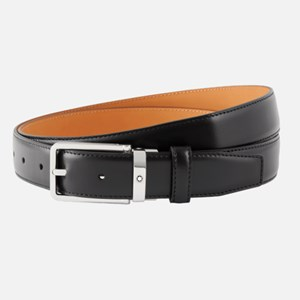 Montblanc Black cut to Size Business Belt 114425