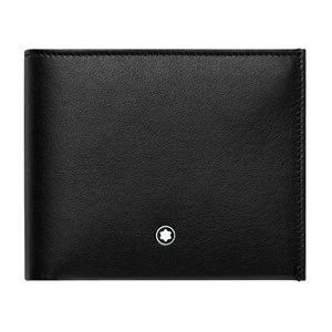 Montblanc Nightflight Wallet 6cc with Money Clip