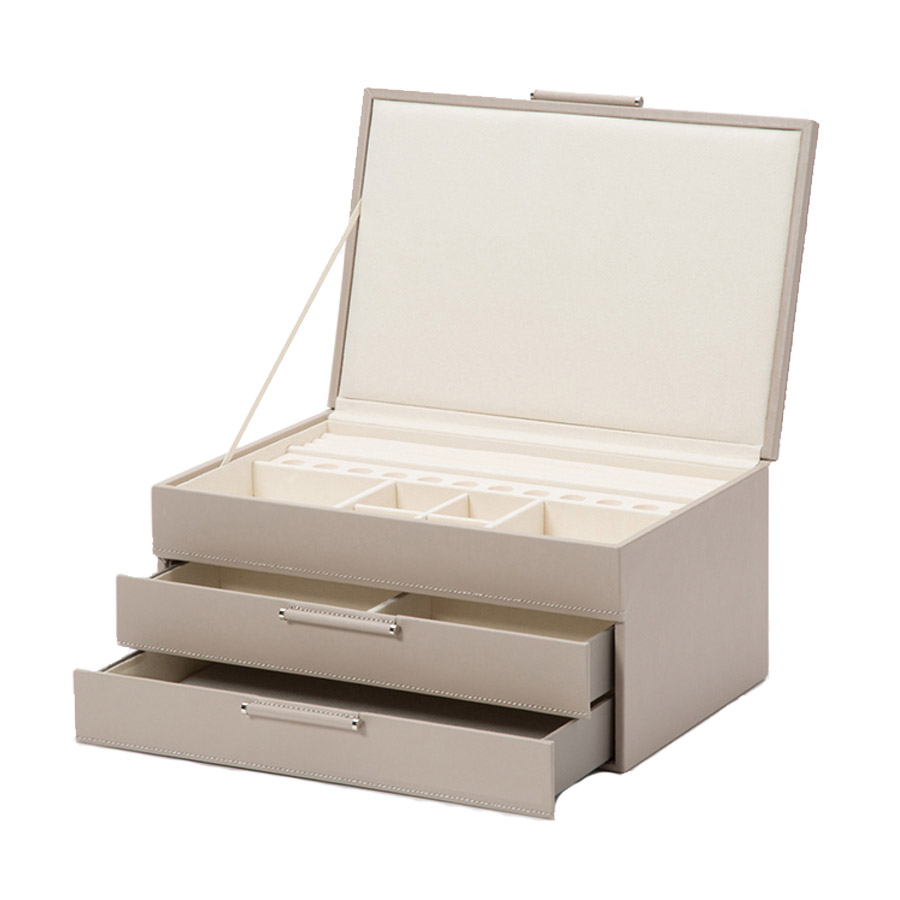 Wolf Sophia Mink Jewellery Box