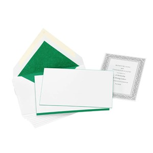 Montblanc Irish Green Card and Envelope Set
