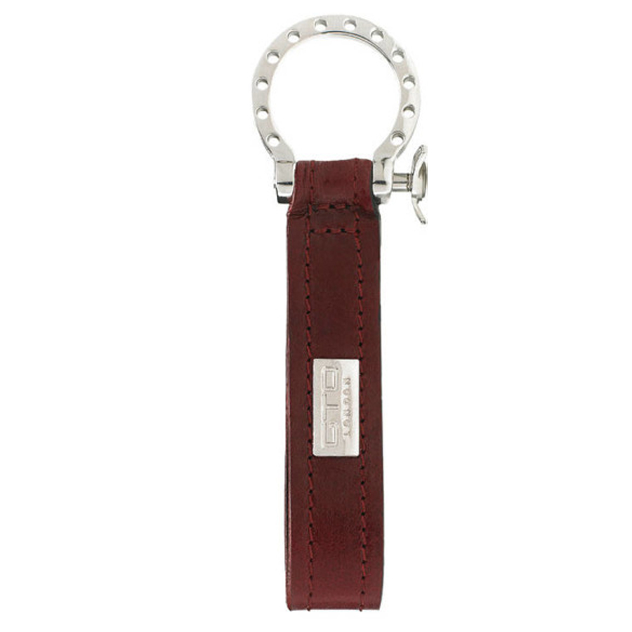 GTO London Red Leather Key Fob GL41-3